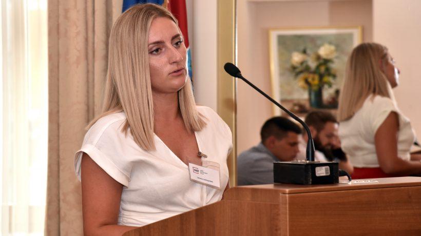 Emina Đurašević, predsjednica podružnice Centralna Hrvatska