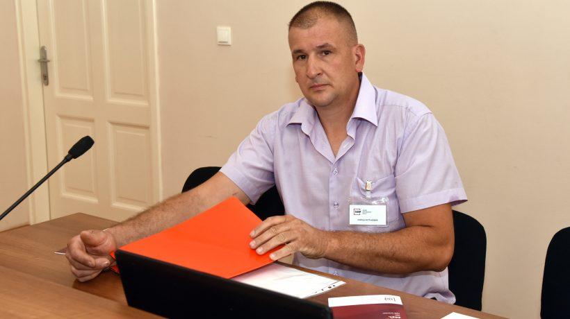 Jovica Krstanović, predsjednik podružnice Dalmacija i Lika